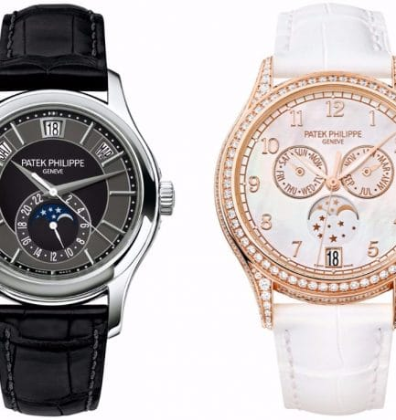 Incredible Patek Philippe Annual Calendar Watches For The Lady & The Gentleman