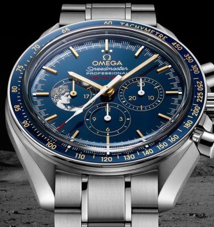 A Blue Moon: The Speedmaster Moonwatch Apollo XVII Anniversary Edition Men's Watch
