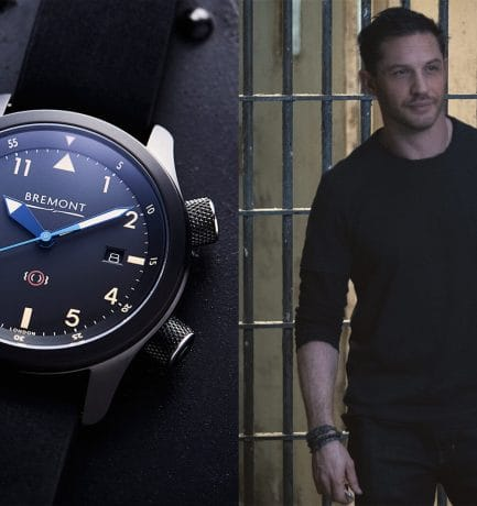 This Is The Bremont Watch Tom Hardy Wears In Venom