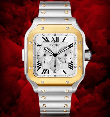 WOTW: Cartier Santos de Cartier XL Chronograph Watch
