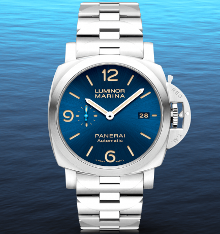 WOTW: Panerai Luminor Marina 44mm Blue Dial Automatic Watch