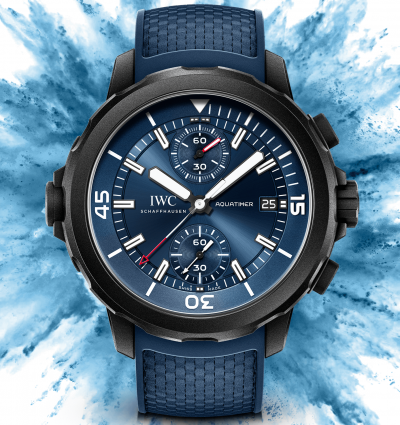 "WOTW: IWC Schaffhausen Aquatimer Chronograph Edition ""Laureus Sport for Good"""