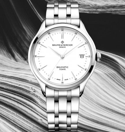 WOTW: Baume & Mercier Clifton Baumatic Automatic Bracelet Watch