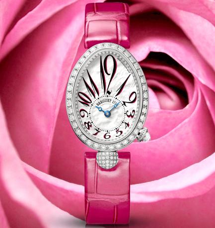 WOTW: Breguet Reine de Naples Pink Leather Strap Watch