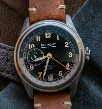 Bremont H-4 HERCULES 43mm Steel Limited Edition Men's Automatic Watch H-4 HERCULES-SS