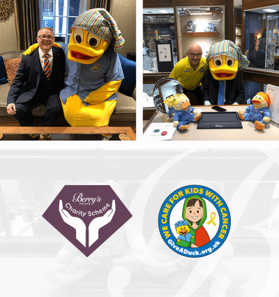 Berry's Charity Scheme 2020: The Give A Duck Foundation