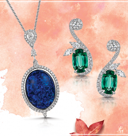 October Birthstone – Opal & Tourmaline