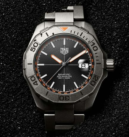 WOTW TAG Heuer Aquaracer X Bamford Limited Edition watch