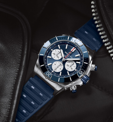 Breitling Releases the new Super Chronomat Collection