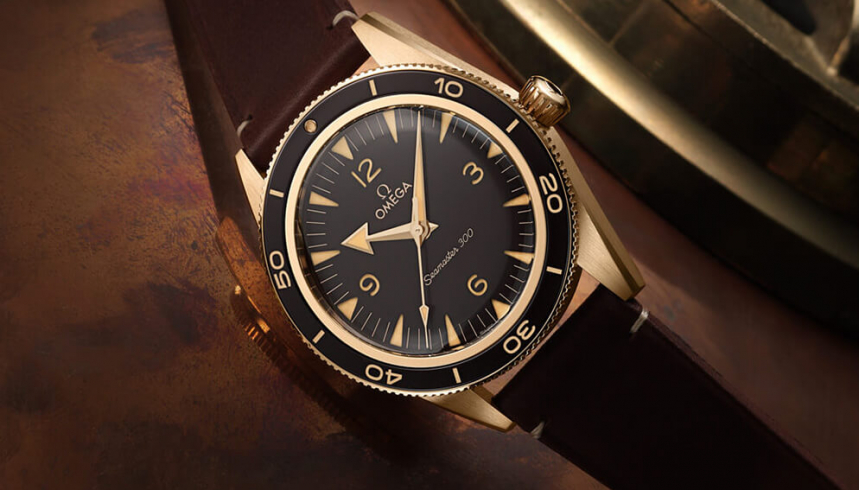 WOTW – The New Omega Seamaster 300 Bronze Gold Watch