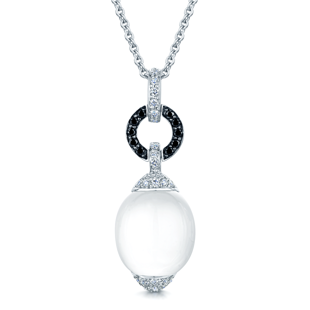 canot raphaele diamond diamonds set free pendant black collections