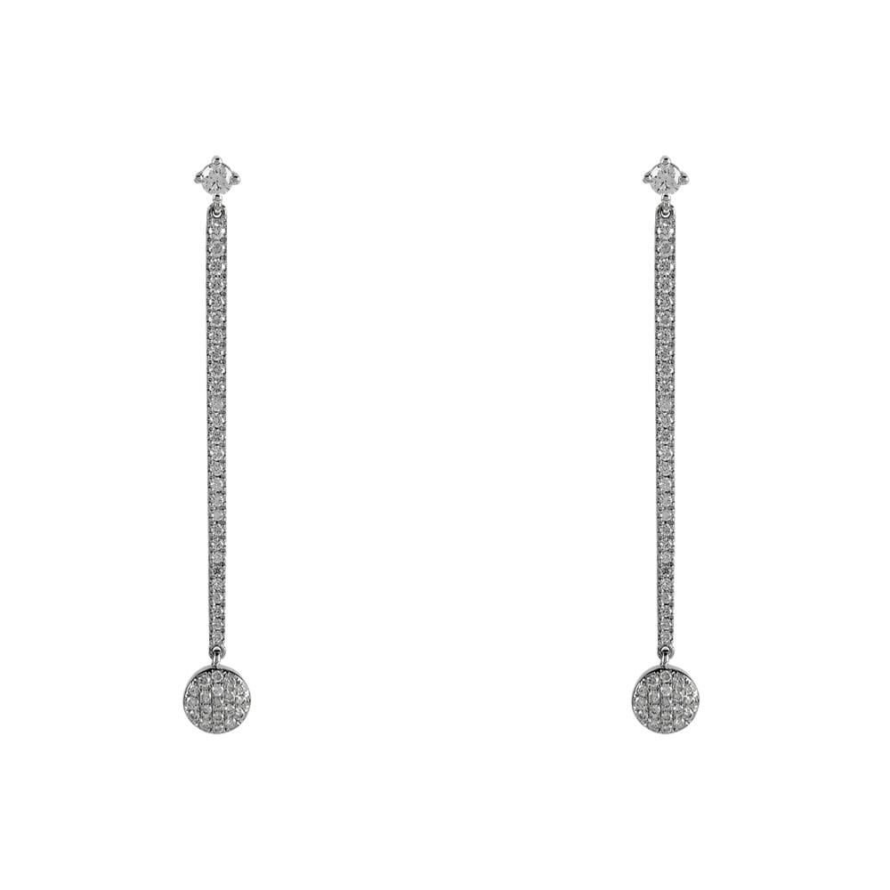 anita long earrings diamond products rope vb rg ko