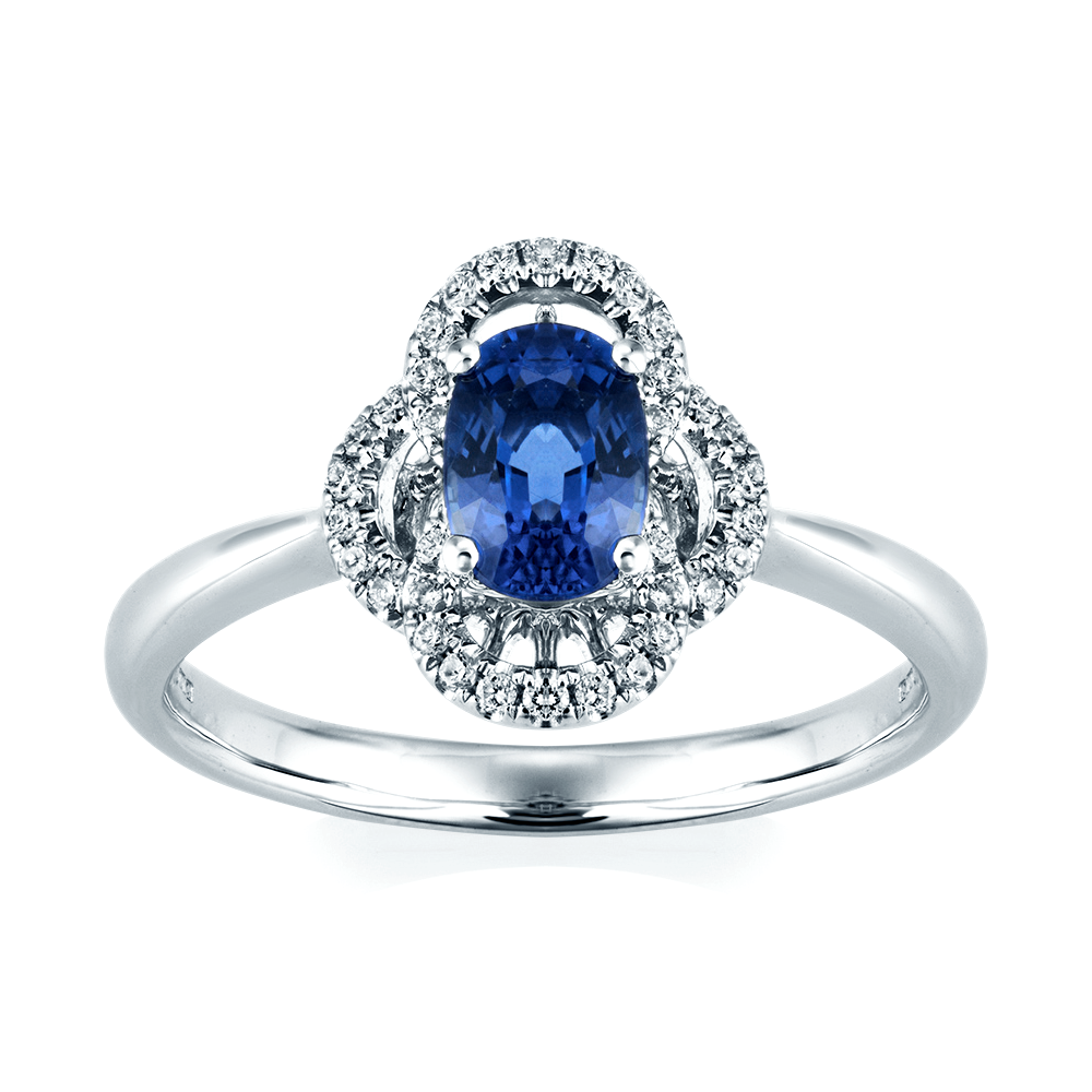 engagement il ring blue an tone sunflower gold two fullxfull products sapphire