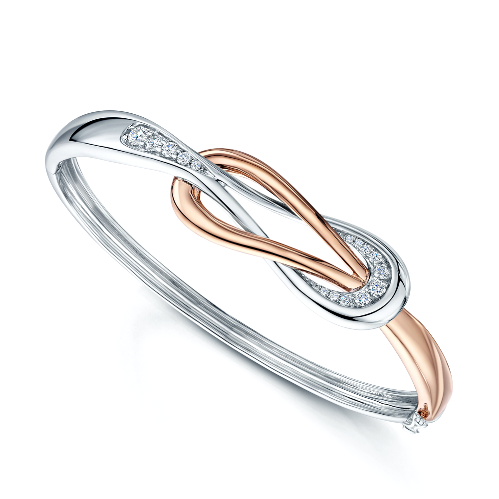 love bangle london bangles products orelia knot