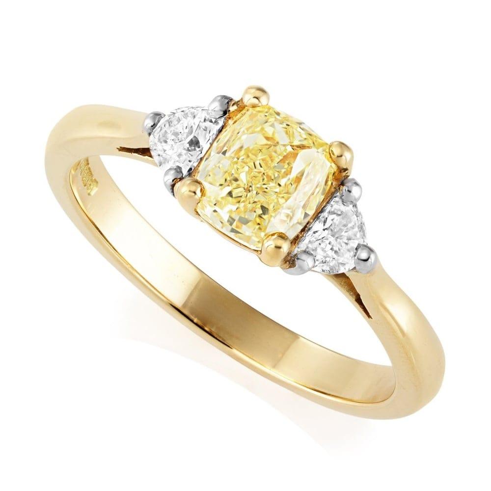 Berry s 18ct Yellow Gold   Platinum Yellow GIA Certified Diamond Ring 78bdbe4be