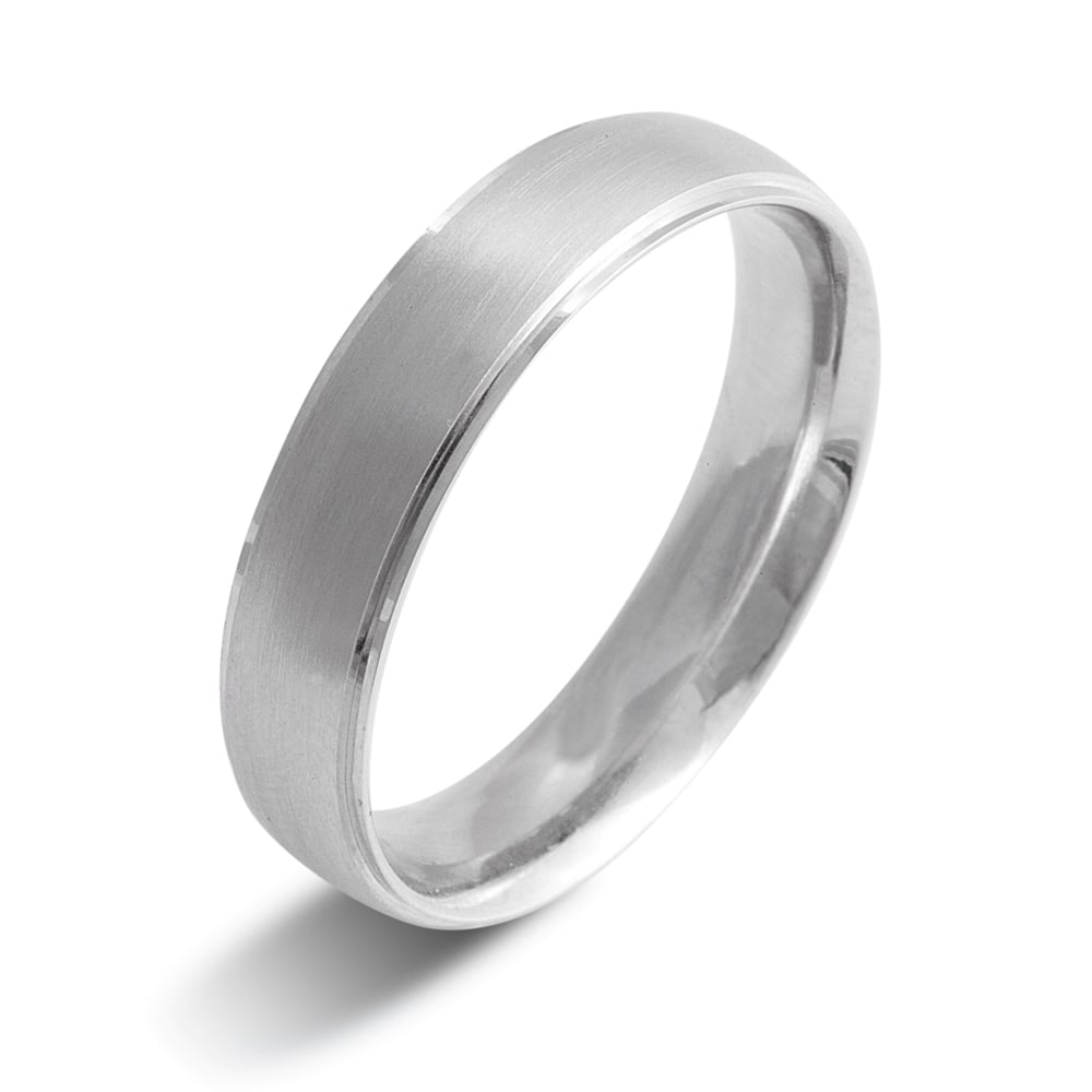 wedding mnh rings brushed finish matte size tungsten fit band for com comfort platinum dp amazon men carbide women
