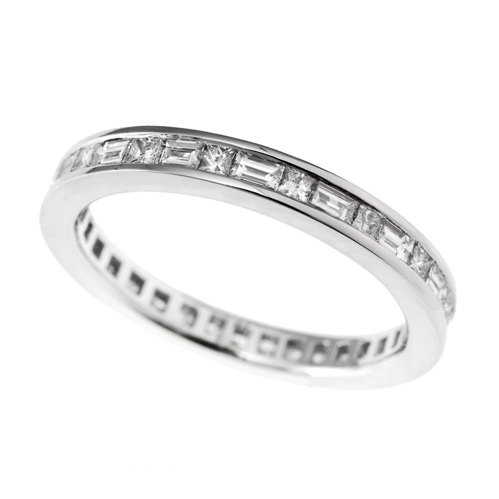 Channel Set Diamond Full Eternity Ring
