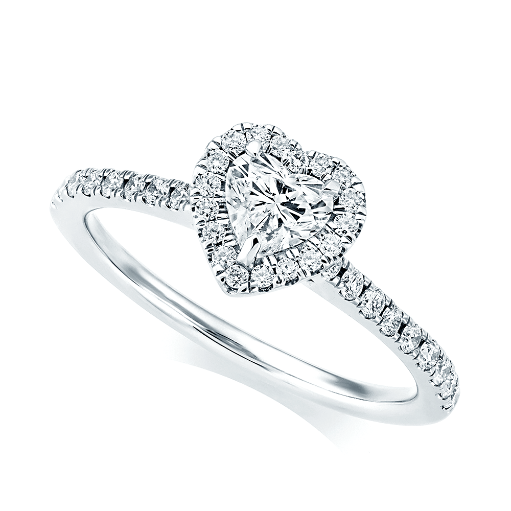 platinum shape jewellers finnies halo the ring image pear diamond