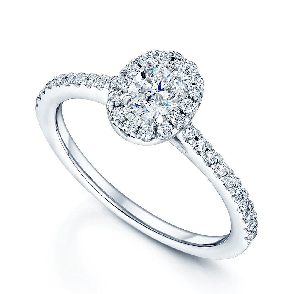 Berrys platinum oval diamond halo cluster ring from berrys jewellers platinum oval diamond halo cluster ring junglespirit Choice Image