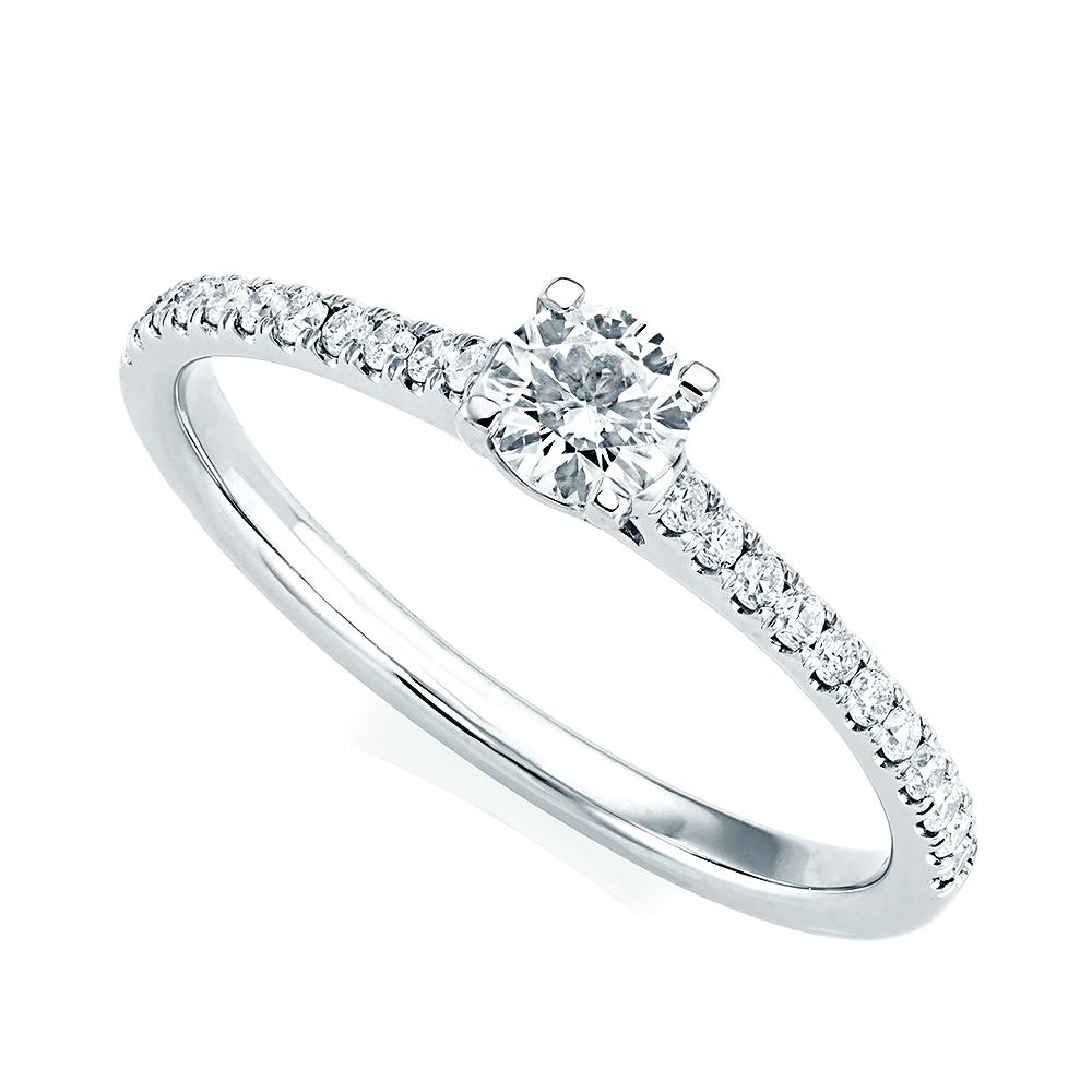 Platinum Engagement Rings Sale Uk: Berry's Platinum Brilliant Cut Diamond & Diamond Set