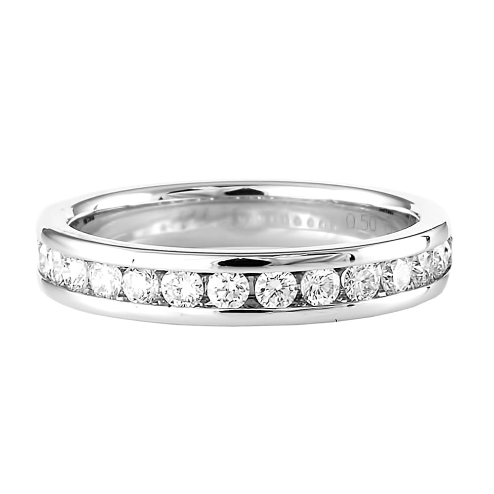products diamond solitaire ring round platinum brilliant and matte denzel henrich