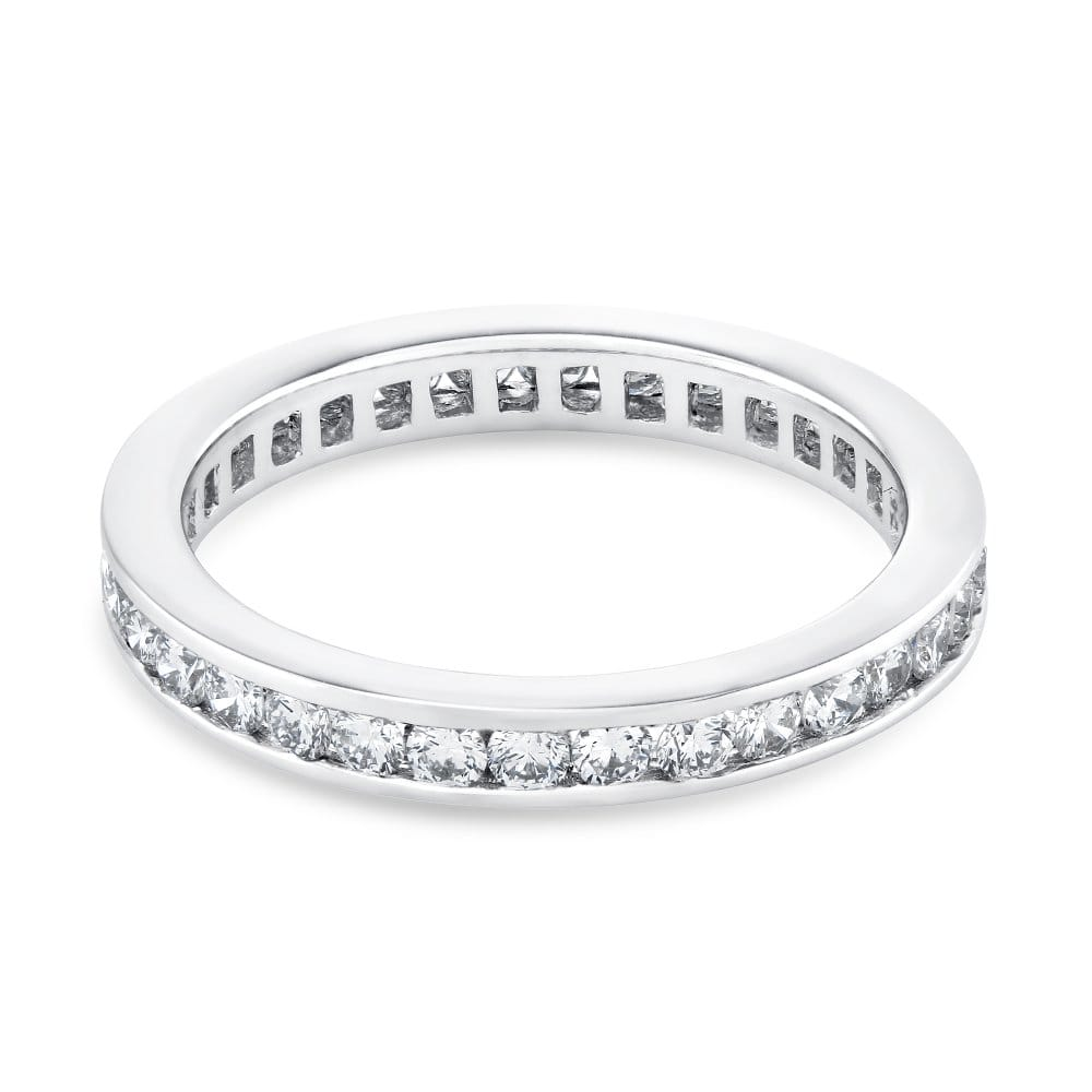 berry s platinum set brilliant cut eternity ring