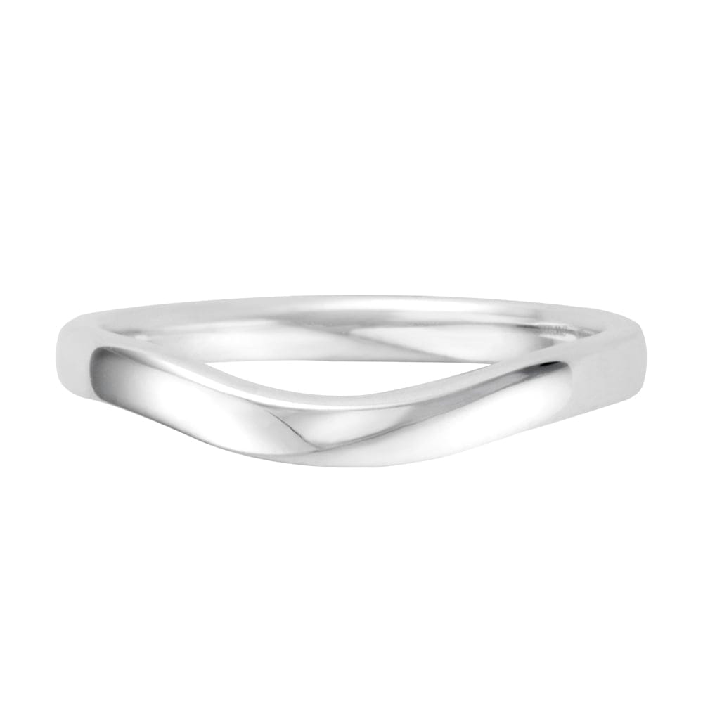 berry s platinum shaped wedding ring sw017