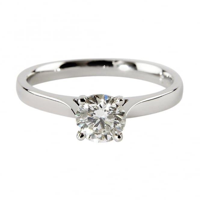 Platinum Engagement Rings Sale Uk: Berry's Platinum Solitaire Brilliant Cut Diamond