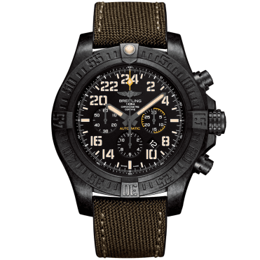 Avenger Hurricane Military 50mm Limited Edition Men's Strap Watch