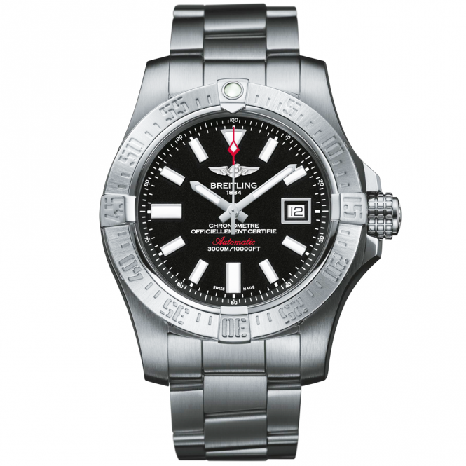 Breitling avenger ii seawolf volcano men 39 s watch a1733110 bc30 for Avenger watches