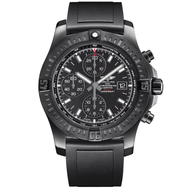 Colt 44mm Black Steel DLC Automatic Chronograph Watch