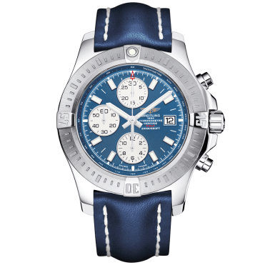 Colt 44mm Mariner Blue/Silver Dial Men's Chronograph Watch