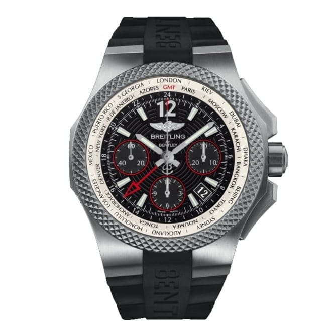 Breitling For Bentley B04 GMT Light Body Titanium Black