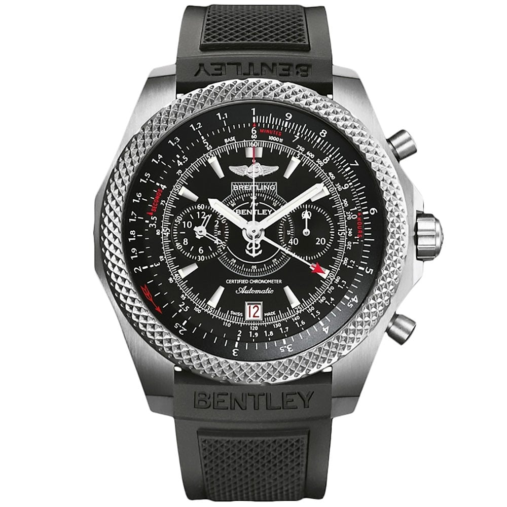 kal automatic chronograph eta bentley ref zeitauktion en full steel breitling
