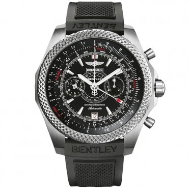 Supersports Light Body Chronograph Rubber Strap Men's Watch