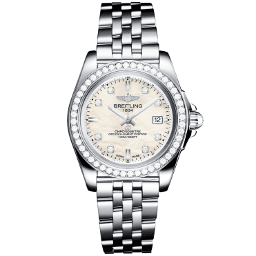 Galactic 32 Sleek Edition Diamond Dial & Bezel Ladies Watch