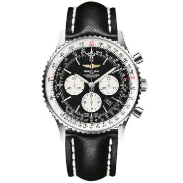 Navitimer 01 46mm Chronograph Black Dial Men's Watch