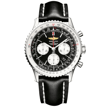 Navitimer 01 Black Dial Men's Automatic Chronograph Watch