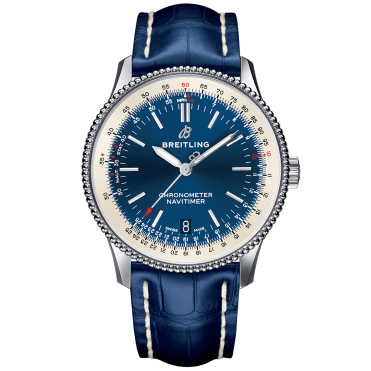 Navitimer 1 38mm Steel & Blue Dial Automatic Watch