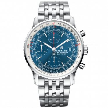 Navitimer 1 41mm Aurora Blue Dial Men's Chronograph Watch