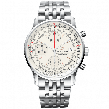 Navitimer 1 41mm Mercury Silver Dial Men's Chronograph Watch