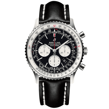 Navitimer 1 46mm Steel Black Dial Men's Chronograph Watch