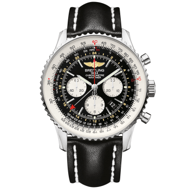 Navitimer GMT 48mm Black Dial Men's Chronograph Watch