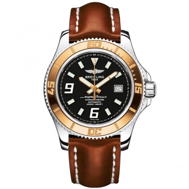 Breitling Superocean 44 Gold Bezel Breitling Superocean 44 18ct