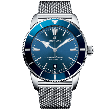 Superocean Heritage II 44mm Blue Dial Automatic Watch