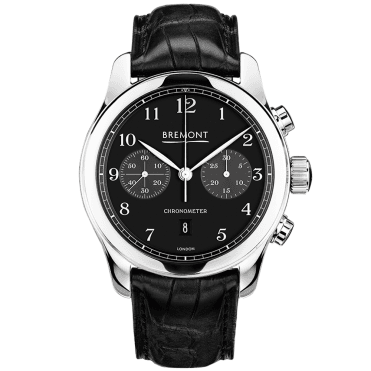 ALT1-C Polished Black Chronograph Men's Watch