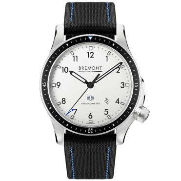 Boeing Model 1 White Dial Automatic Men's Strap Watch
