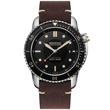 Bremont men s watches from berry 39 s jewellers for Black tan watch