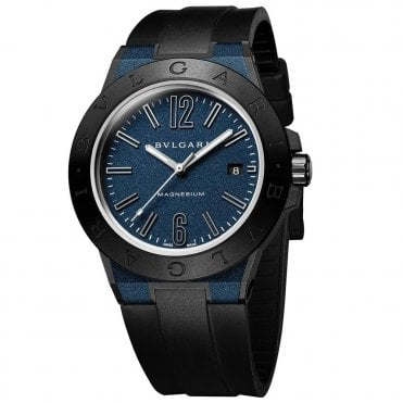 Bulgari Diagono 41mm Blue Magnesium & Ceramic Men's Automatic Watch