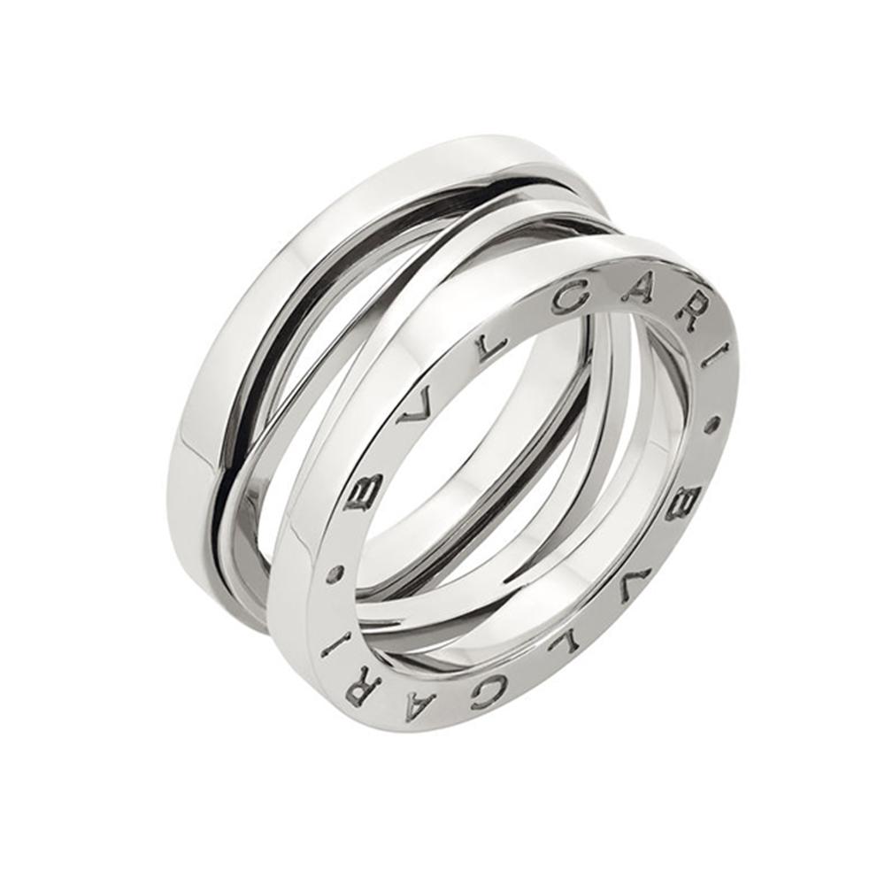 7b915fae4356e B.Zero1 Zaha Hadid 18ct White Gold Three Band Ring